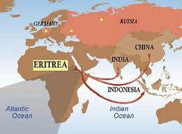 The road to Eritrea