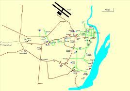 Juba map