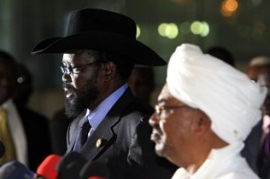Both leaders in S.Sudan & Sudan