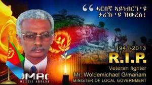veteran fighter Mr. Woldemichael Gebremariam