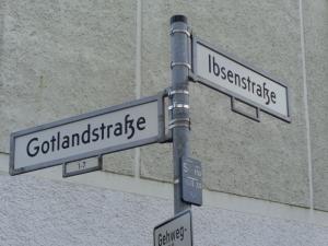 الطريق للسفارة الأريترية في برلين