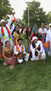 We are Eritrean's, one nation & one people with diversity & harmony building young nation.