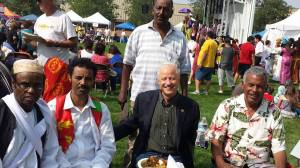 "Distinguish delegate representing the City of Aurora, congressman Mick Coffman (R-Aurora) civil organizations, and other community members had the chance to visits the Eritrea American's community ""Global Village"" where the congressman lead the visitors to the ""Eritrea Global Village"" where he engage and approach the community leaders and enjoyed the Taste of Eritrea."