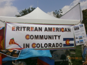 The Eritrean Global Village during the Aurora Global Fest 2015