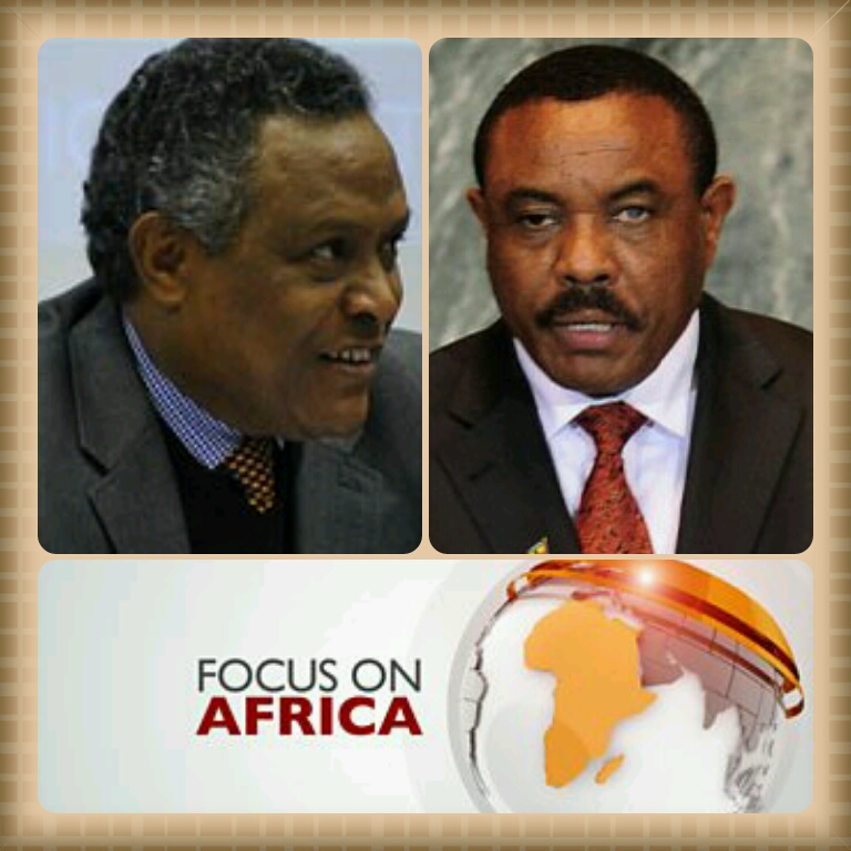 Amb. Girma of Eritrea challenged Prime Minister Desalegn of Ethiopia.